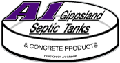A1 Concrete Products Logo